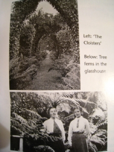 Exotic garden history
