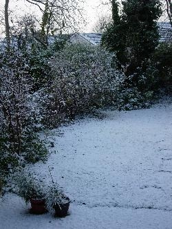 Snow in Cork!
