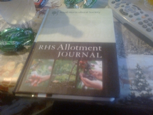 RHS allotment journal