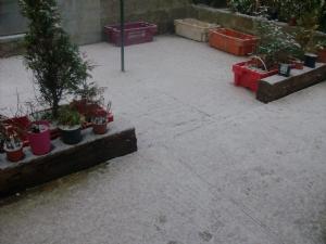 Snow calls this way.