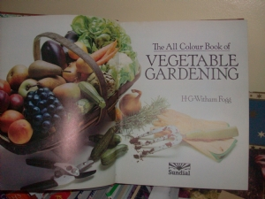 Vegetable gardening.