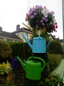 The flowering watering can.