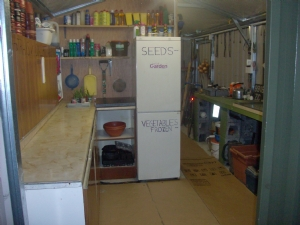 Garden shed clean up this evening,.