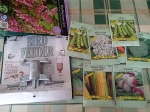 Garden gifts from America.