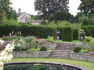 The Lutyens garden