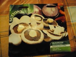 Mushroom (Agaricus) Dry Spawn