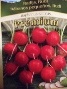 No likey radishes!!!