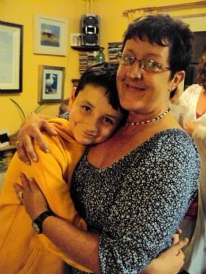 Me with Zak (my nephew)