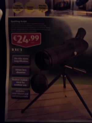Spotting Scope €24.99