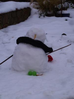 I think he'th goth a 'thaw' head!