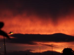 Sunset in Santry