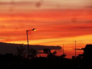 Sizzling Santry Sunset