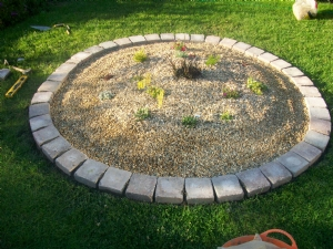 completed alpine bed
