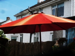 New parasol in one easy step!