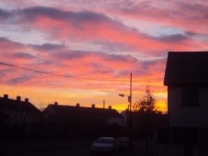 Yesterdays sunrise