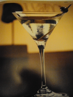 Hot and Dirty Martini