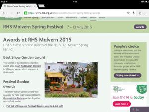 RHS Malvern Show.