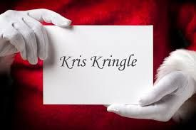 Christmas Shopping - Kris Kringle