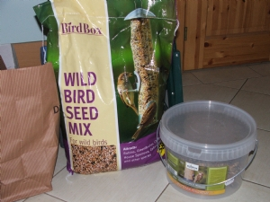 No hungry birds in my garden!