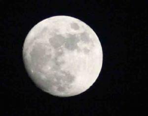 Moon shot for Jacinta