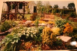 New bench circa 1997