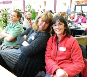 Deborah and Linda at Johnstown