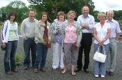 Cooper, Headgardener, Drumanagh, Mairin, Shelser, Gerry Daly, Joybells & her hubby