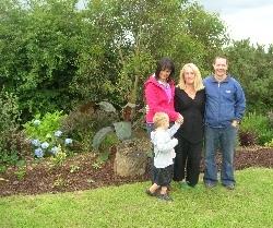 Cooper (and Dean), Rachel & Head Gardener