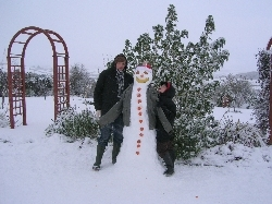 Victor, the snowman
