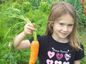 Caitlin & her Carrot