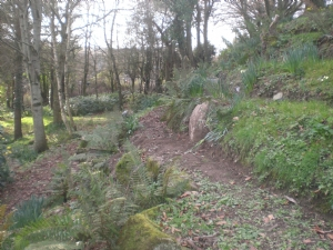 Im pleased with the new 'badger' path/the new stone fits well
